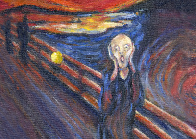 The Scream.Munch